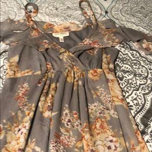 Jessica Simpson dress from Motherhood